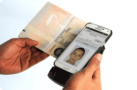 Lector de dni y pasaporte para moviles android y iphone