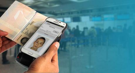 Lectura de pasaporte y DNI con teléfonos Android o iPhone