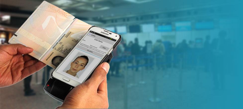 Lector de pasaporte y DNI para móviles Android e iOS