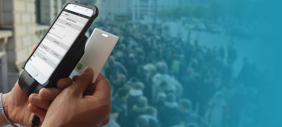 Lector RFID para móviles Android e iOS