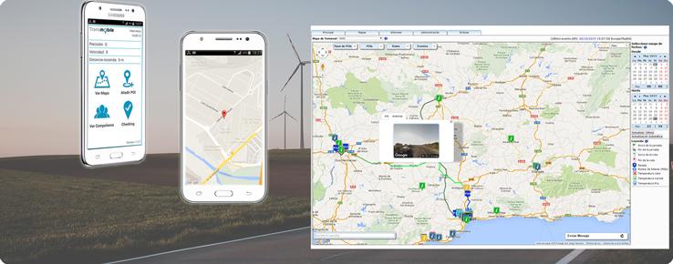 Localización GPS móvil para empresas con personal de instalación y mantenimiento, equipos comerciales, reparto, buzoneadores, etc.