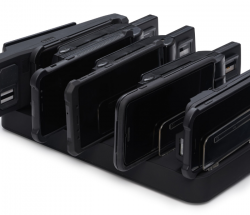 Nueva base de carga para equipos móviles de lectura de datos Grabba